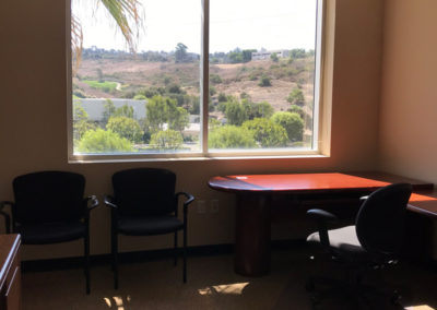 Office with View of Hills